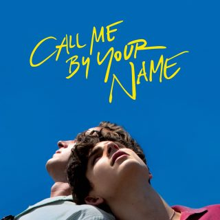 """Poster for the movie """"Call Me by Your Name"""""""