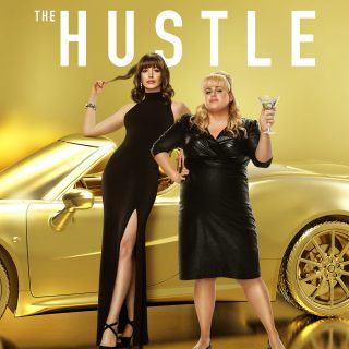 "Poster for the movie ""The Hustle"""