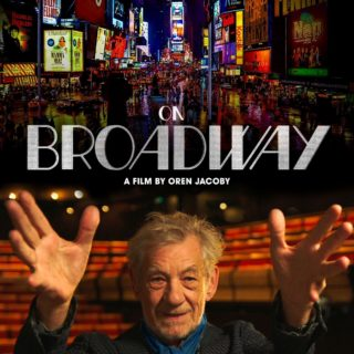 """Poster for the movie """"On Broadway"""""""